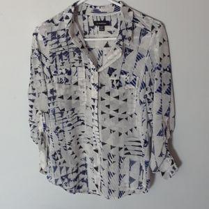 3/25$ Le Chateau XXS casual buttons down shirt